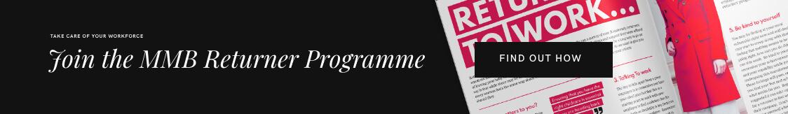 MMB Maternity returner programme
